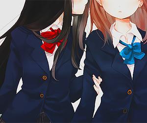 anime, manga, and yuri image