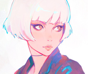 anime, beautiful, and short+hair image