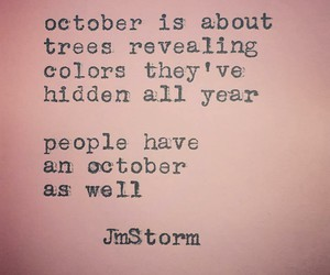 october, quotes, and wise words image