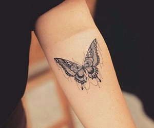 butterfly, life, and tattos image
