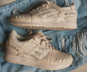 asics, denim, and Nude image
