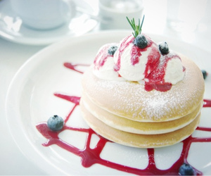 delicious, pancakes, and food image