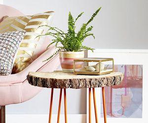 decor, orange, and room image