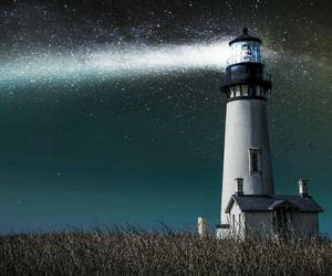 lighthouse and sky image
