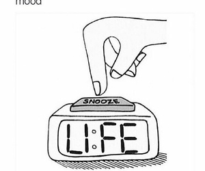 life, snooze, and overlay image