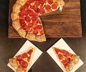 pizza, fast food, and food image