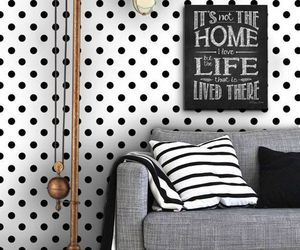 decor, home, and sofa image