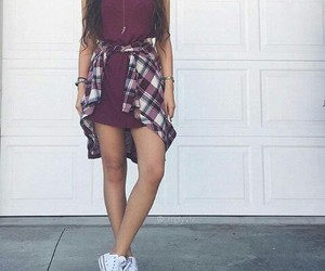 converse, dress, and accesorize image