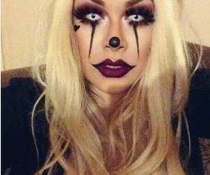 Halloween, maquillaje, and disfraz image