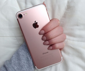 apple, rosegold, and autumn image