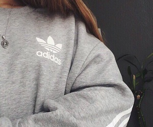 adidas, grey, and style image