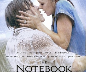the notebook, movie, and ryan gosling image