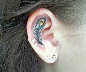 ear, tattoo, and life as we know it. image