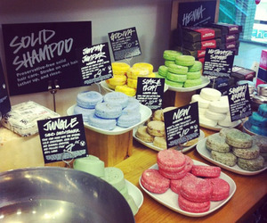 lush and soaps image