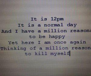 quote, sad, and kill image