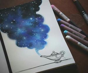 drawing, stars, and disney image