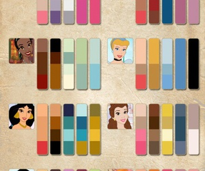 color, disney, and princess image