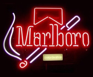 marlboro, cigarette, and light image