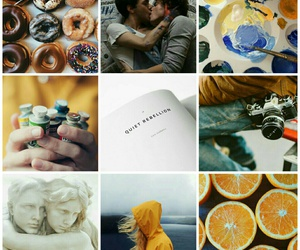 aesthetic, book, and moodboard image