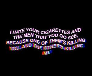 aesthetic, grunge, and Lyrics image