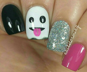 nails, art, and Halloween image