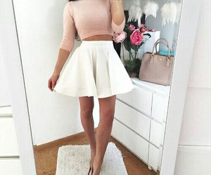 classy, fall, and white image