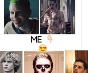 joker, evan peters, and ahs image