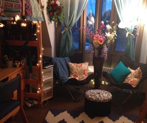 dorm, bedroom, and room image
