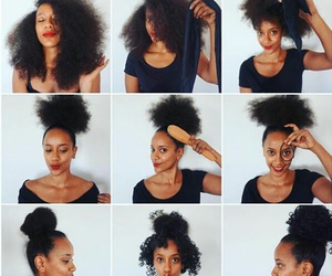 Afro, goals, and hair image