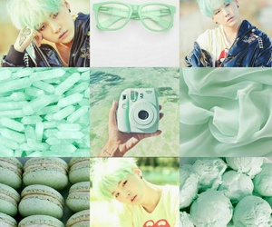 crystal, mint, and glasses image