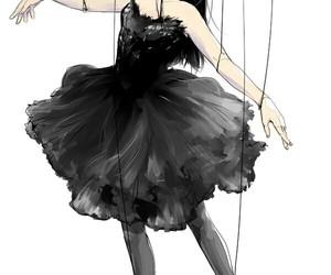 art, arte, and bailarina image