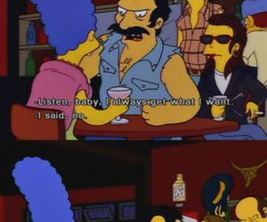 the simpsons, marge, and simpsons image