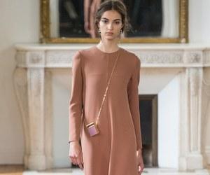 blush, dress, and model image