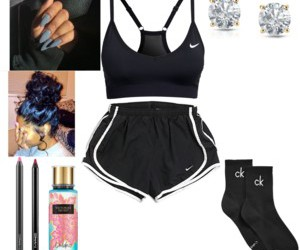 CK, nike, and Polyvore image