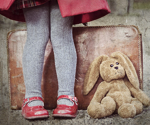bunny and red image