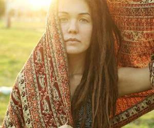 bohemian, boho, and dreadlocks image