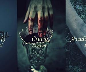 harry potter, crucio, and imperio image