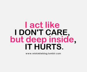 hurt, quote, and act image