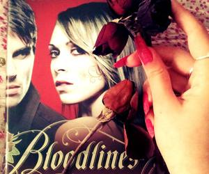books, pinknails, and bloodlines image