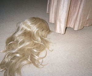 blonde, wig, and stranger things image