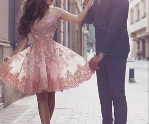 dress and couple image