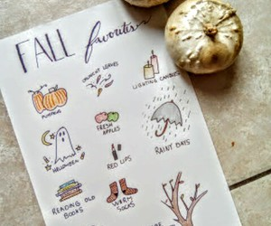 drawing, fall, and perfect image