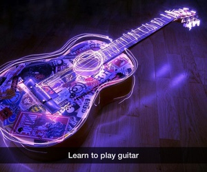 color, Dream, and guitar image