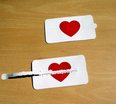 card, fortune, and heart image