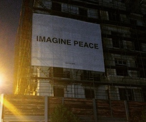 city, imagine, and john lennon image