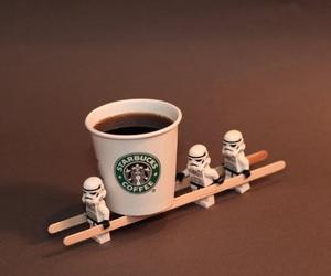 starbucks, star wars, and coffee image