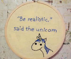 unicorn and realistic image
