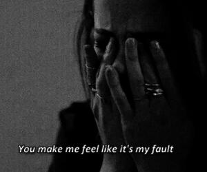 sad, sadness, and selena gomez image