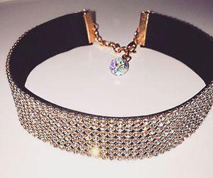 diamond, accessories, and choker image