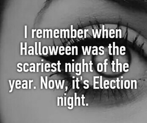 creepy, night, and election image